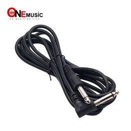 Vente en gros 2pcs / lot 3M câble d'ampli guitare 6.35mm 1/4