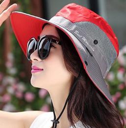 2018 New Unisex Cotton Fisherman Bucket Hat Fashion Mesh Camping Hats  Summer Bob Cap Sun Protection Caps For Men And Women 0ea570db7590