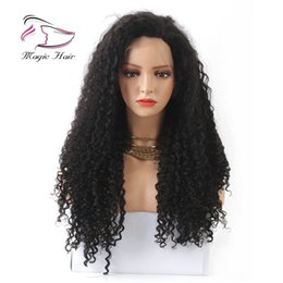 Virgin Brazilian Tight Curly Australia - Tight Curly 180% Density Lace Front Wigs for Women Natural Color Brazilian Indian Peruvian Malaysian Virgin Hair Pre Plucked Hairline