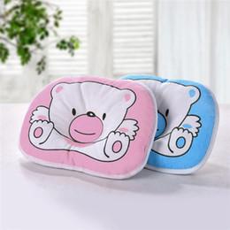 toddler sleep pillow 2019 - Hot Baby Pillow Infant Toddler Sleep Positioner Anti Roll Cushion Flat Head Pillow Protection of Newborn Almohadas Bebe