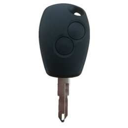 Keys Chip Shell Australia - 2 Buttons Renault Remote Car Key Shell for No Chip Uncut Blade Case,key blank free shipping