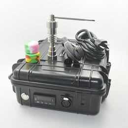 $enCountryForm.capitalKeyWord Australia - New Pelican E Digital Nail Kit electric Dab nail universal DNail set fit 10 16 20mm titanium water pipe bong E-cigs Vaporizer Kit