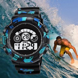 sports watches for men running Canada - HONHX Sport LED Digital Watches For Man Luxury  Army Clock Silicone Electronic Waterproof Watch Run Erkek Saat relogio