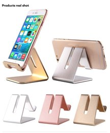 Wholesale Alloy Desktop Stand Hardware Mobile Stand Flat Stand Metal High End Gift Mobile Phone Gift