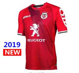 Venta al por mayor de 2019 Toulouse Rugby Jerseys League jersey Tluth camisa Ocio deportes Lentulus camisas S-3XL envío gratis