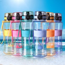 Lips Seals Australia - Hot sales Leak-Proof Seal Large Capacity Nozzle Sport Bicycle Plastic Tritan My Water Bottles With Cover Lip Travel Bottle
