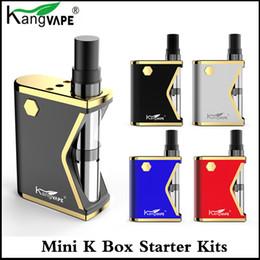 K batteries online shopping - Authentic Kangvape MINI K Box starter kit ml K1 Cartridge tank mAh Preheat VV Battery box mod vape Pen Kits