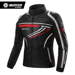 Discount sports gear clothing - Scoyco JK37 Men Motocross Riding Jacket Motorcycle Jacket Ceket Moto Chaqueta Armor Jaqueta Gear Sport Protective Clothi