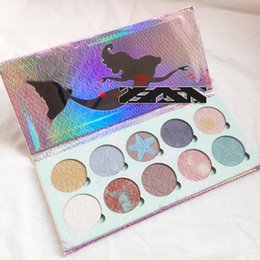 quality eye shadow Australia - Bittee lace Beauty Cosmetics 10 colors highlighter palette Brand New Eye shadow Palette Makeup High Quality