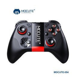 Discount smart phone joystick - Wholesale-2017 New Mocute 050 Update 054 Bluetooth Gamepad Android Joystick PC Wireless Controller VR Game Pad for PC Sm