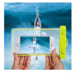 online shopping Universal Waterproof Beach Bag Case For iPhone X case Luminous Transparent Pouch For Samsung LG Under inch Phone For Samsung LG