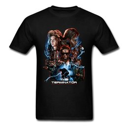 Discount men new swag style clothes - The Terminator Movie T Shirt XXXL Short Sleeve Brand-clothing New Style Swag Coon Funny T Shirts