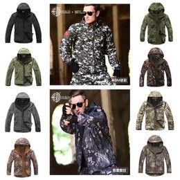 Softshell Camouflage Jacket Australia - TAD V 4.0 Lurker Softshell Jacket Or Pants Men Tactical Jacket Outdoor Waterproof Windproof Camouflage Hunting Clothing