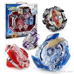 China Beyblade BB807D Storm Gyro Battle Arena Dazzle Detonation Set 4pcs Gyro Starter Set with Launchers Starter Aoi Baruto Beyblade Toys for Kids cheap battle gyro suppliers