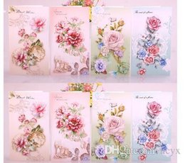 general flowers Australia - love123 Solid cards for flowers card watercolor blessing can be customized general valentine's day card teachers' day cute123