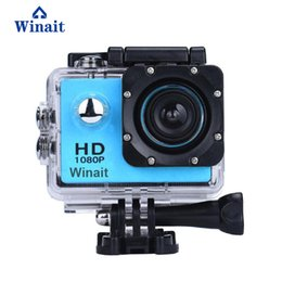 cheap micro camera UK - 2017 winait hot selling cheap action sports camera A7 micro sd card max support 32GB