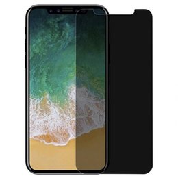 $enCountryForm.capitalKeyWord NZ - For iPhone X Xr Xs Max 8 7 6 6S Plus Privacy Tempered Glass Anti-Spy Screen Protector For Samsung S7 S6 S5