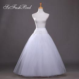 $enCountryForm.capitalKeyWord Australia - New Arrived High Quality Free Size A Line Wedding Petticoats Bridal Slip Underskirt Crinoline Bridal Accessories For Wedding Dress