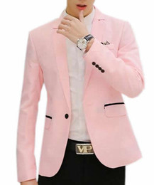 Wholesale ARRIVE GUIDE Mens Stylish Solid Lapel Blazer Jacket Coat