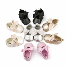 $enCountryForm.capitalKeyWord UK - Baby shoes princess shoes Large bow tie soft anti slip cotton new baby shoes.