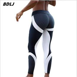 c334700258 New 2017 Mesh Pattern Print Leggings fitness Leggings For Women Sporting Workout  Leggins Elastic Trousers Slim Black White Pants