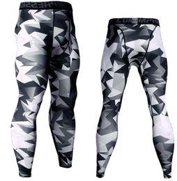 7b80b84df8c Camo Pants Leggings NZ - 14 Colors Brand Camo Compression Pants Men Sport  Wear Jogging Pants