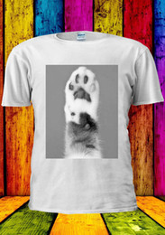 $enCountryForm.capitalKeyWord Australia - Cat Paw Kitten Kitty Cute Foot Funny T-shirt Vest Tank Top Men Women Unisex 1861 Cartoon t shirt men Unisex New Fashion tshirt