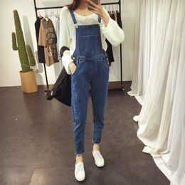 $enCountryForm.capitalKeyWord Australia - 2018 Summer Women Cowboy Large size women casual jumpsuit Fashion Denim jumpsuit Female high quality sleeveless piece pants
