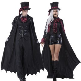 high quality adult mens womens vampire costume halloween party vampire costumes fancy cosplay outfit clothing