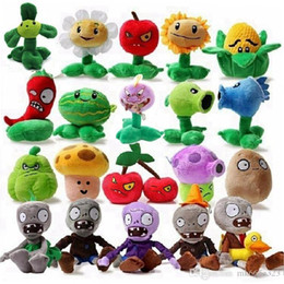 Plant Vs Zombies Toys NZ - Plants vs Zombies Stuffed Plush Toys Game PVZ Plants & Zombies Soft Plush Toy Doll for Kids Children Christmas Gifts 20pcs lot