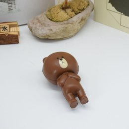Cute brown bear online shopping - Cute Brown bear fashion Squishy toys let you more relax relieve stress and happy Squishy rebound toys V001