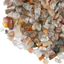 Crystal Chips NZ - 100g Mixed Stone Quartz Gravel New assemble crystal Decorate Aquarium Fish Tank Tumbled Crushed Irregular Shaped Chips adorn Healing Rough