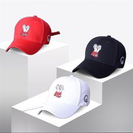 China Unique Cartoon Hand Design Embroidered Cap Outdoor Sports Visor Baseball Caps Adjustable Hip Hop Dance Hats For Men Women 10 8jp Z cheap hands free visor suppliers