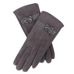 $enCountryForm.capitalKeyWord NZ - 2017 Winter Women Fashion Short Gloves women Suede Mittens short fingers for Female Guantes Sra Invierno#LREW