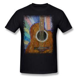 Black S Guitar Canada - Classic Mens Cotton GUITAR SUNSHINE Tee-Shirt Mens Round Collar Navy Blue Short Sleeve T-Shirt S-6XL Casual Tee-Shirt