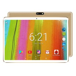 Wholesale 10 inch Tablet pc Android Octa Core GB RAM GB ROM dual sim WiFi FM IPS Phone Call G GPS Tablets gifts