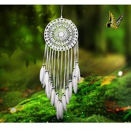 Белое кружево Ловец снов чистый ветер куранты ручной Ловец снов ремесло настенные украшения подарки (выбрать тип) Индийский домашний декор сада