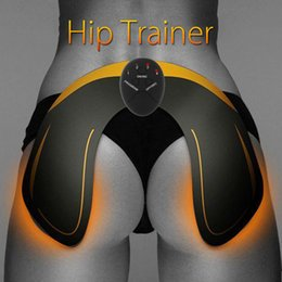 EMS Hip Trainer Ass Builder Buttock Tighter Lifter Massager Electric Vibration Muscle Stimulator Relaxtion Machine Hip Care on Sale