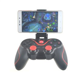 $enCountryForm.capitalKeyWord NZ - Wireless Bluetooth 3.0 Game Controller Terios T3 For Android Smartphone Tablet PC With TV Box Holder T3+ Remote Gamepad Joystick