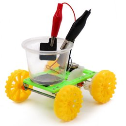 $enCountryForm.capitalKeyWord UK - DIY Science Gizmo Physics Experiment Saltwater Power Car Kids Handmade Puzzle Assembled Toys Physics Teaching Resources