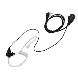 Ptt Kenwood Radio NZ - for Baofeng uv-5r Kenwood Radio 2 PIN Mic PTT Covert Acoustic Tube In-ear E P8N2