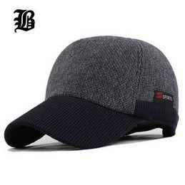fc2080b134c3d2 Warm Winter Thickened Baseball Cap Men'S Cotton Hat Snapback Winter Hats  Ear Flaps For Men Women Hat Wholesale F240