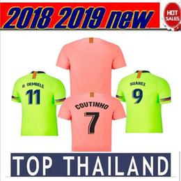 18 19 barca kits Barcelona Messi soccer jesrey Camiseta de la fútbol 2018  2019 Home MESSI SUAREZ O.DEMBELE soccer jersey football shirt A.INIESTA  COUTINHO ... 4f01f6f44e0
