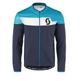 Discount scott cycle shirts - 2018 scott team mens Cycling Jerseys Bicycle Long Sleeve maillot ropa ciclismo MTB cycling Clothing Mountaion Bike Shirt