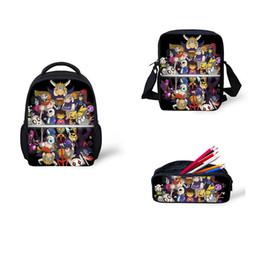 $enCountryForm.capitalKeyWord Canada - Anime Undertale Backpack Set 3pcs for Teenage Girls Boys Book Bag Travel Bag Children School Backpacks Schoolbag Satchel Larger