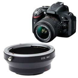 M4 3 Mount Adapter Ring For Canon EOS EF Mount Lens To Olympus Panasonic New on Sale