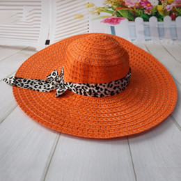 China 2017 Summer Women's Foldable Wide Large Brim Beach Sun Hat Straw Beach Cap For Ladies Elegant Hats Girls Vacation Tour Hat cheap large elegant straw hats suppliers