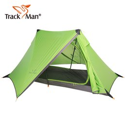 $enCountryForm.capitalKeyWord NZ - Trackman Camping Tent One Person One Bedroom Double Layers 3 Season Tent Outdoor