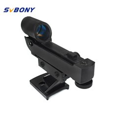 telescope scope NZ - wholesale Red Dot Reflex Viewfinder Finder Scope for 80EQ SE SLT PS Series Astronomy Monocular Binoculars Telescope W2564