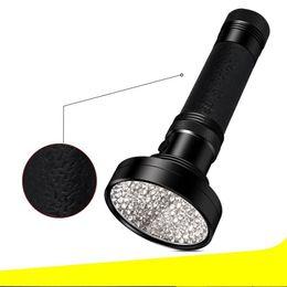 Purple Light Flashlight Fluorimetric Detection Creative Led Lights Small Hiking Travel Tools Travel Practical Equipment New 26 5tb ZZ on Sale